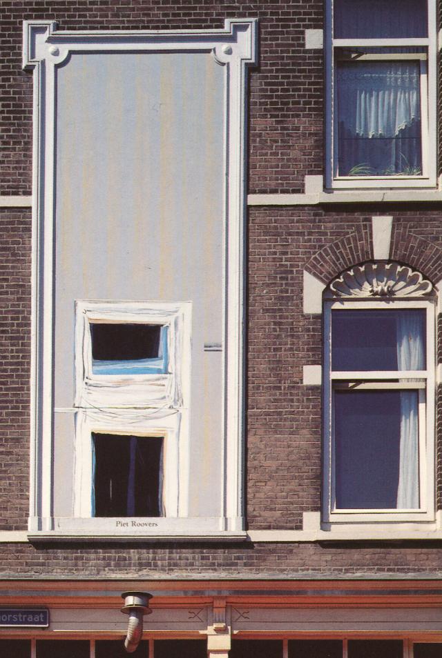 Piet Roovers - Muurschildering Katendrecht